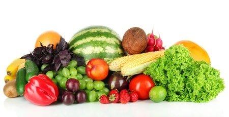 Obst- und Gemüseschale